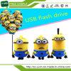 Memória Flash do USB dos desenhos animados 16GB do PVC dos sequazes