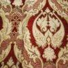 Tissu de luxe en gros de rideau en sofa de tapisserie d'ameublement de Chenille de jacquard de conception de fleur