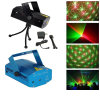 Het mini Licht van Kerstmis van DJ van Kerstmis van het Stadium van de Laser Lichtrode/Groene Lichte