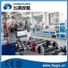 Cadena de producción automática de un solo paso de la hoja del PVC
