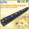 2 단면도 8 눈 백색 선형 LED 광속 바 Sharpy 이동하는 맨 위 빛 (SF-114B)