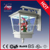 Weißes Wall Lamp mit Snow Flakes und LED für Christmas