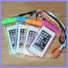 Caso impermeable de buceo noctilucentes bolsa bolsa para el iPhone 7 Plus 6s Samsung Nota 7 5 S6 S7 Edge universal del teléfono móvil del PVC Natación