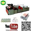 Tecido automático do rolo de toalete da alta qualidade produzindo a manufatura da máquina