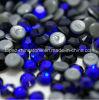 卸し売り水晶ラインストーンの衣服(SS10 Cobalt/3Aの等級)のための熱い苦境の水晶