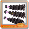 최고 Quality 7A 브라질 Weave Black Hair Color