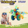 Educational en plastique DIY 3D Puzzle Toys