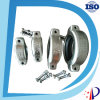 Accoppiamento di tubo flessibile registrabile degli acciai degli adattatori d'acciaio dello zoccolo