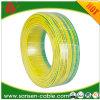 Belüftung-grüne/gelbe Massen-elektrischer Draht 6mm2 (H05V-U)