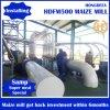 Máquina da fábrica de moagem do milho do certificado do CE da eficiência elevada para a venda