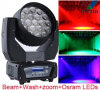 Diodo emissor de luz 19*12W Beam Zoom Moving Head Light (ML1912Z)