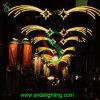 豪華な街灯のクリスマスの装飾