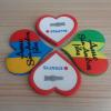 Design variopinto Custom Heart Fridge Magnets con Any Words