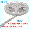 Luz de tira flexible de DC24V 5050 SMD RGB LED