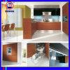 Armário de cozinha de madeira UV lustroso elevado (ZH2879)