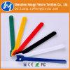 Cinta plástica colorida de nylon do Macio-Gancho & do Velcro do laço