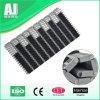 AntiSlipping Flush Grid Modular Belt mit Rubber (Har900)