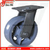 4 Inch bis 8 Inch V-Groove Cast Iron Swivel Casters
