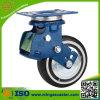 Schlag-Absorptions-Fußrolle mit 100mm PU-Rad