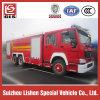 Impulsión del coche de bomberos 6X4 de HOWO, 12000L, motor diesel 290/300/336HP