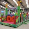 Campo de jogos inflável do obstáculo do tema do jardim zoológico de Parcours (AQ198)