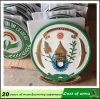 Coutume 3D Rwanda Metal Emblem