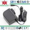 24W AC/DC Adapter 12V2a Power Adapter com o FCC Approved do CE SAA de UL/cUL GS (2 anos de garantia)