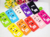 3D Cute M Design Silicon Case voor iPhone6/Samsung