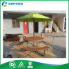 Umbrella (FY-559H)를 가진 Quality 높은 Outdoor HDPE 정원 Table Set From Outdoor Furniture 중국