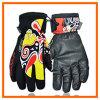Guante de encargo profesional del esquí, guantes del invierno, guantes de cuero del esquí
