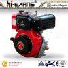 Motor diesel con el eje y el filtro de aire normal (HR186F) de la cuerda de rosca