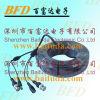 Удлинительный кабель BNC кабеля CCTV с видеоим штепсельной вилки DC силы + силой (U8-4E)