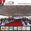 Im Freien LuxuxHochzeitsfest-Zelt mit weißem Teppich