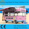 De de de reizende Aanhangwagens van de Dienst van het Voedsel/Bestelwagen van het Voedsel/Vrachtwagen van het Voedsel