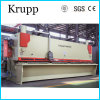 Scherende Maschine der Guillotine-QC11k-12X4000 für Ausschnitt-Edelstahl