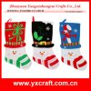Natale Decoration (ZY16Y006-1-2-3 50CM) Santa Stocking Holder Set