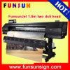 Melhor impressora chinesa do Sublimation 1440dpi de Funsunjet Fs1802k 1.8m da qualidade com cabeças Dx5
