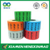 Coding colorido Size Number Wrap Sticker para Garment/Clothing