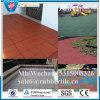 Antislip квадратная резиновый плитка, крытая плитка настила, резиновый циновки спортивной площадки
