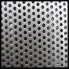 Folha perfurada de malha de metal / perfuração perfurada de aço galvanizado a quente quente
