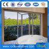 Venster die van Bifold van het Glas van het aluminium het Frame Aangemaakte Vouwend het Venster van het Glas glijden