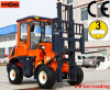 4X4 Forklift 2.8 Tons Roughの地勢Forklift Truck