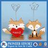 Disegno di legno di Fox per il supporto della maschera