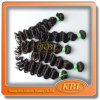 Weave brasileiro de Banguecoque do cabelo do cabelo humano do lírio do Virgin de Remy