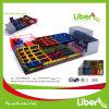 Fabricante de equipamiento estándar de calidad superior del trampolín de China