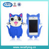 China Supplier Silicon Animal Cellphone Case voor iPhone 4/4s