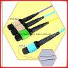 Vezel 50/125 van Corning van het Koord van het Flard van de vezel Optische Om3 40g MPO aan 8LC de Schakelaar van Sc