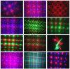 Indicatore luminoso di notte della stella del laser della discoteca di natale mini