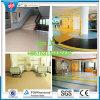 Krankenhaus-Gummibodenbelag-Matten-bunte Gummifußboden-Straßenbetoniermaschine
