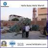 Hydraulic semiautomatico Waste Paper/Plastic Baler con CE (HAS4-7)